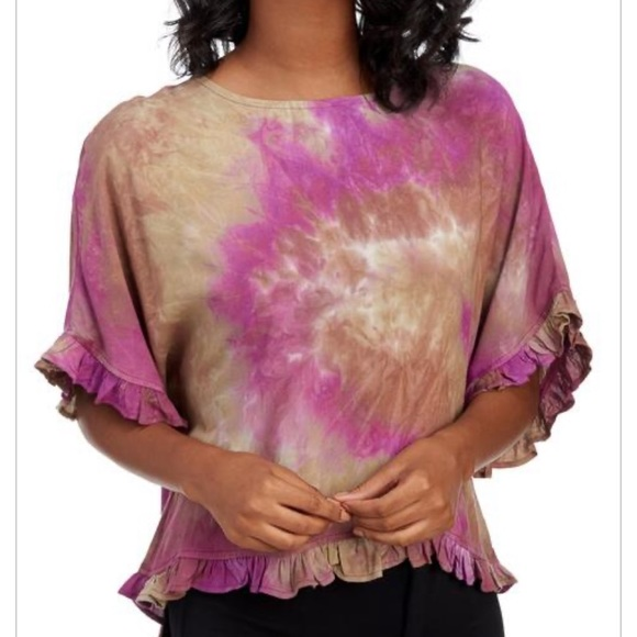 NWT For Cynthia Tie Dye Top